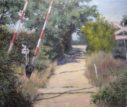 Jan Severa -  Přejezd u Struh