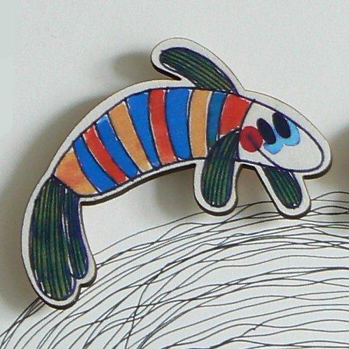 Magnet - rybička v triku