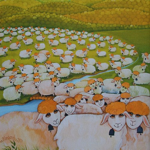 Ovečky-sleva