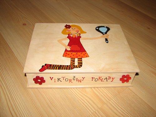 Krabička na poklady pro malé dámy