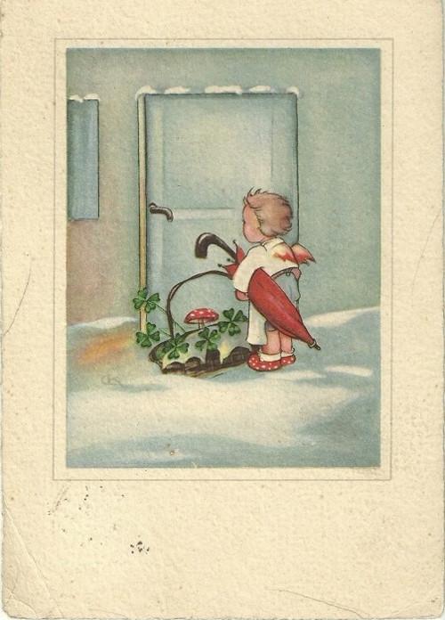 Umělecká pohlednice Malíři Česko