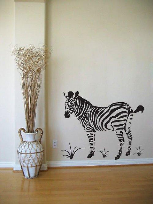 Zebra - samolepka na zeď