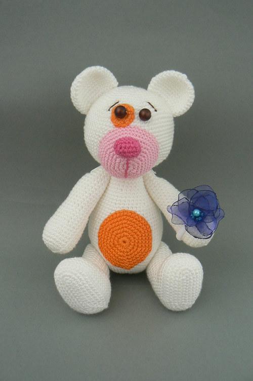 Návod na háčkovaného medvídka - Bublinu