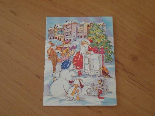 Cedulka na vánoční dárky