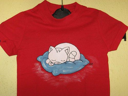 KOTĚ UŽ SPÍ (86) - dětské tričko