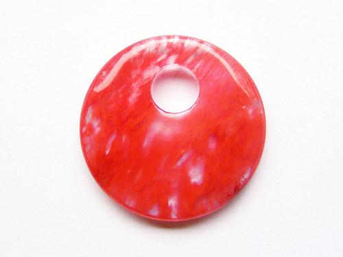 Kolečko z cherry quartzu ((PM109))