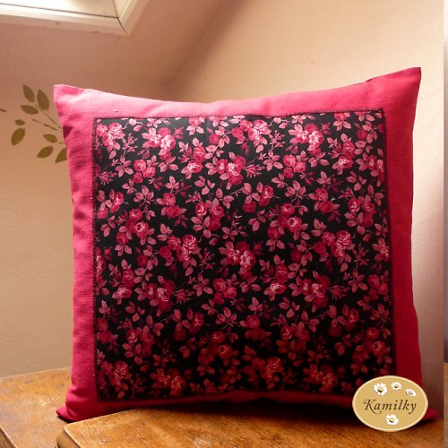 Růžičky -polštář