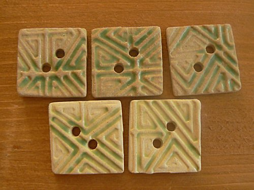 Knoflík - čtverec malý Z