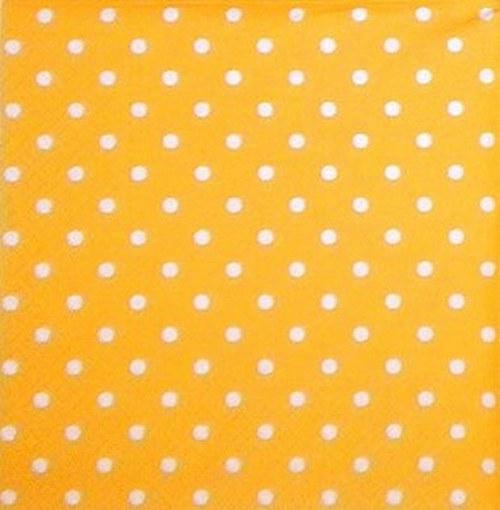 OS-019 Oranžový s puntíky