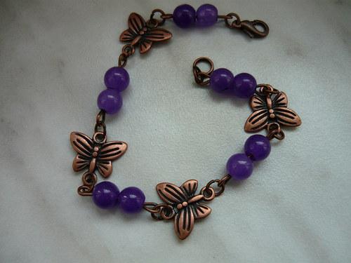 motýlí náramek