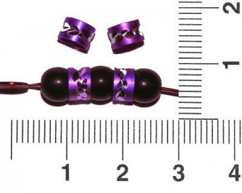 Rondelka fialová, 50 ks