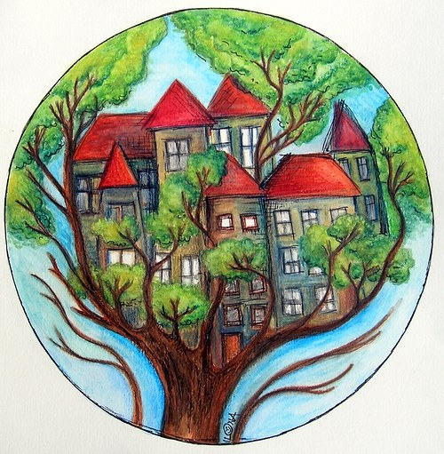 Život na jednom stromě