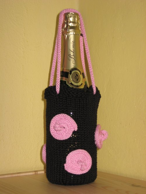 Dárková taška na víno z kolekce PRASEČÍ OCÁSKY