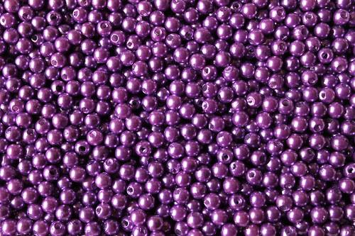 Plastové perličky 8mm - 250g (cca 1000ks)
