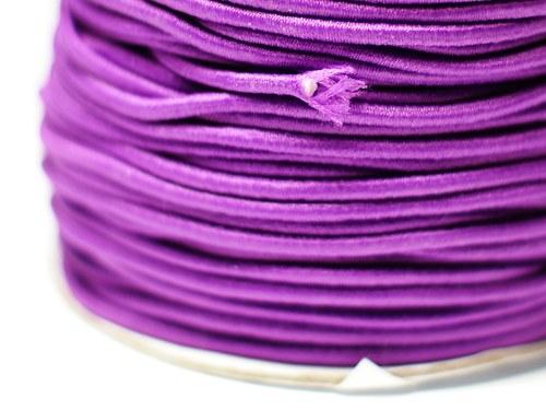 pruženka kulatá 2 mm- fialová
