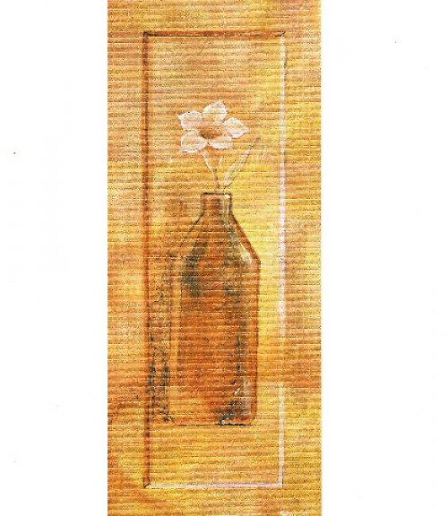 Reprodukce- tisk - Květina ve váze 10x25cm - 017