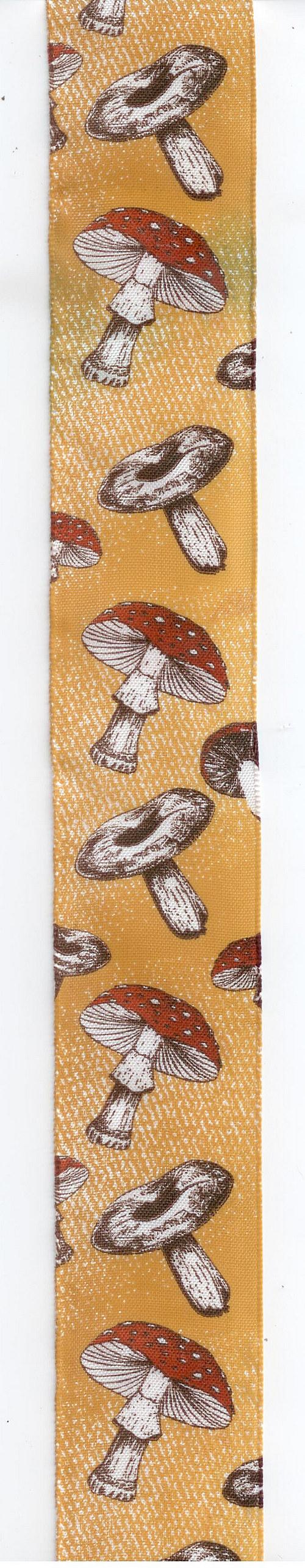 Stuha látková - houbičková