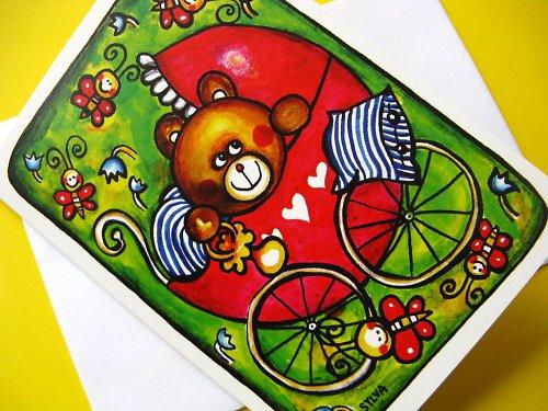 Medvědí miminko - přání