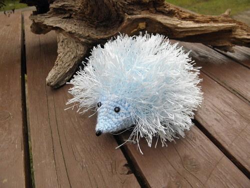ježeček modrý