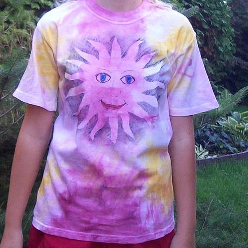 Dětské tričko Sluníčko