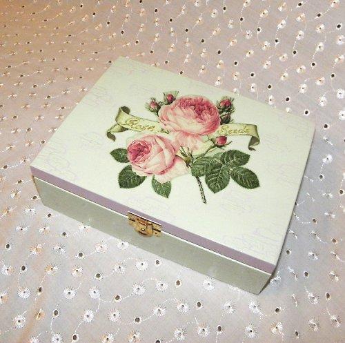 Růžičková  krabička na čaj