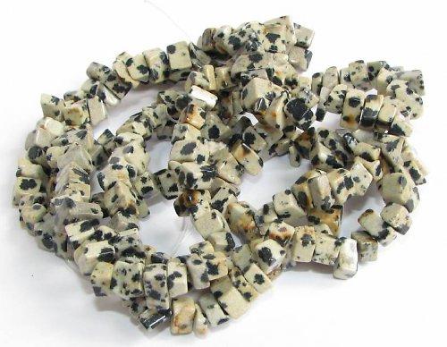 Jaspis Dalmatin - zlomky, návlek 10cm