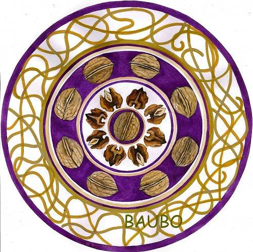 Mandala Orechová
