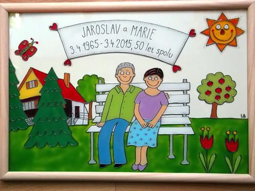 K výročí svatby - babička s dědou :-)