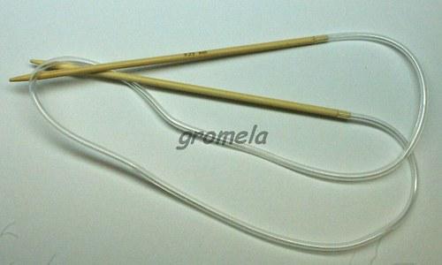 Jehlice kruhové vel.3,25 (80 cm) - bambus
