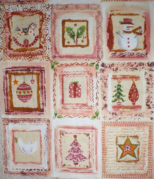 Vánoce - panel
