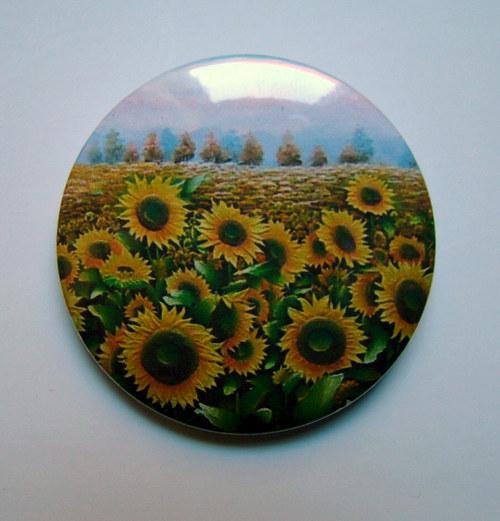 SLUNEČNICE I.. - placka - button - 44 mm