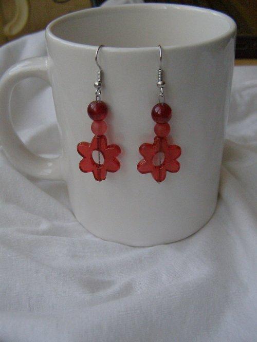 Rudé květy..