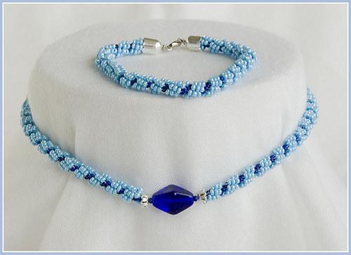 Modrá spirála