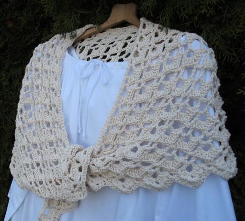 Dámská noční košilka bílá M-L