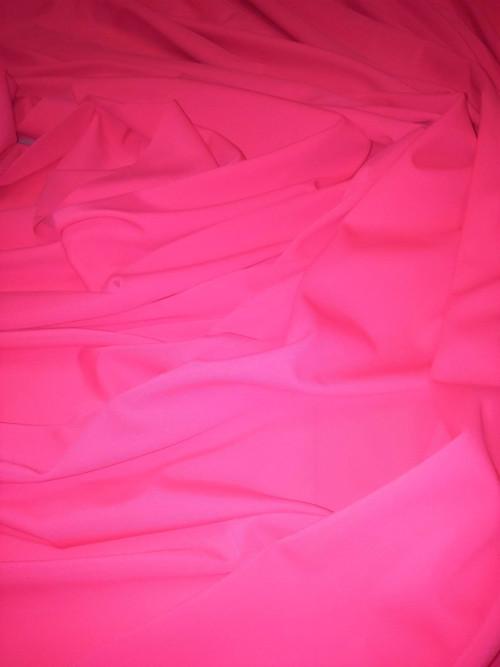 Úplet - plavkovina - neonově růžový