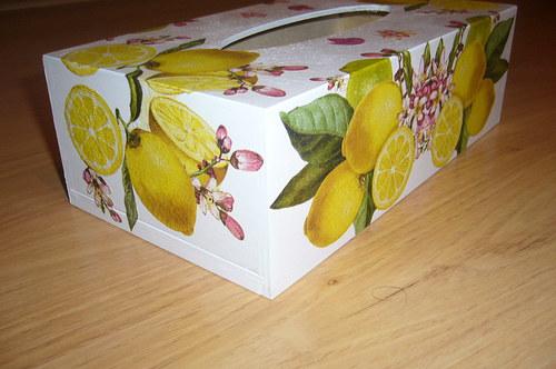 Kapesníkovník-citronkování