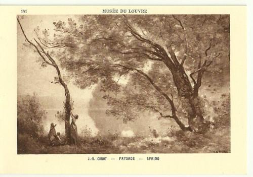 Umělecká pohledniceJ.B.Corot