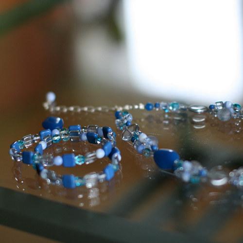 souprava náhrdelník s náramkem