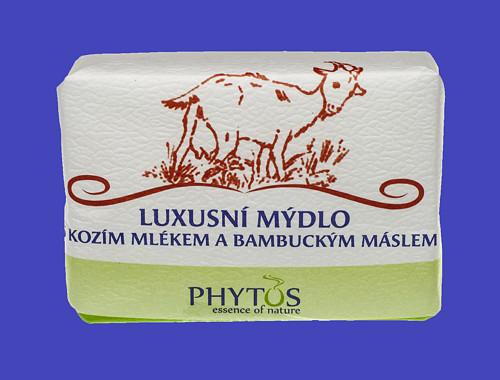 Luxusní mýdlo s kozím mlékem a bambuc. máslem 200g