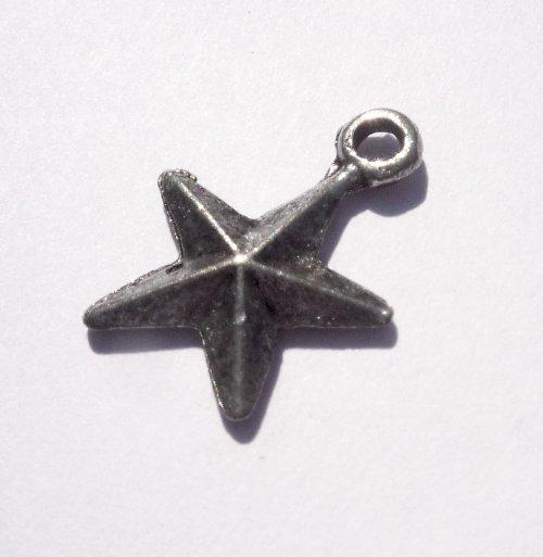 kovová hvězda