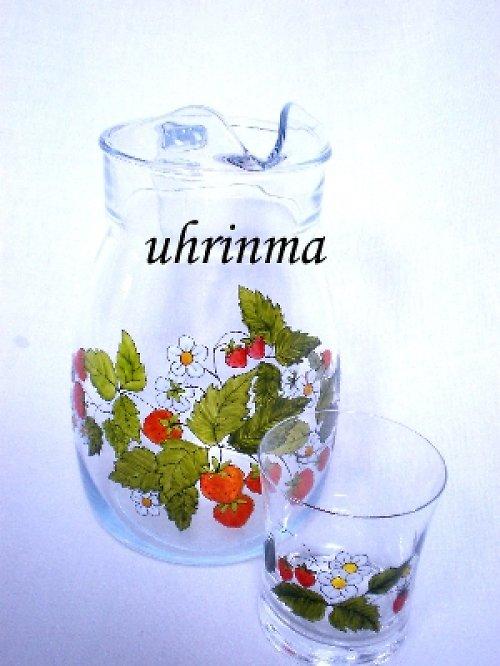 jahody-džbán