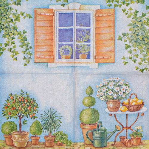 Ubrousek - zahrada