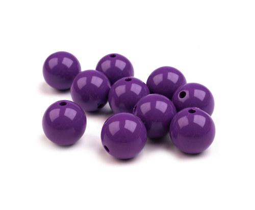 kulička fialová Ø12mm, 6ks