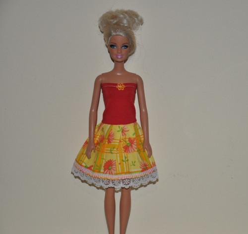 Barbie šaty 190