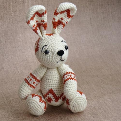Zajačik - žakárový vzor milujem