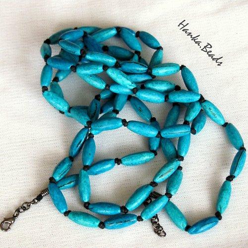 náhrdelník Modré burizony
