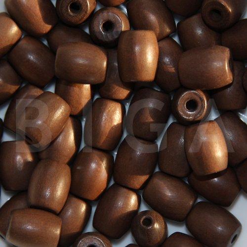 dřevěné korálky 11x13mm