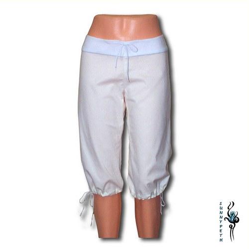 Bokové capri kalhoty-VÝPRODEJ