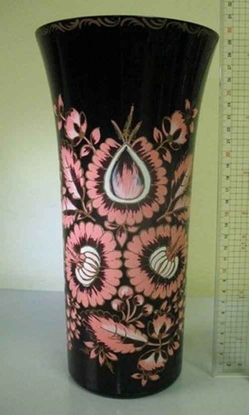 Ručně malovaná váza