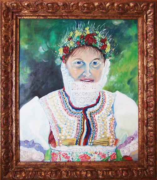 Hanácko-Slovácké děvče